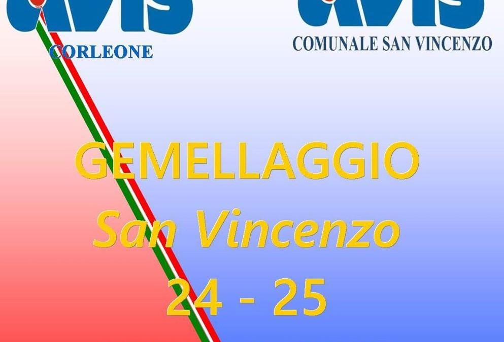 Al via il gemellaggio tra Avis San Vincenzo e Avis Corleone (programma eventi 24 – 25 luglio)
