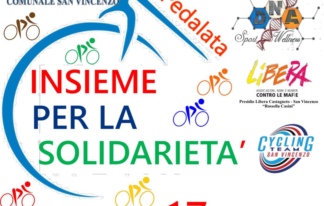 Ecco la 2°Pedalata: Insieme per la Solidarietà. Tutti in bici il 17 Aprile!!