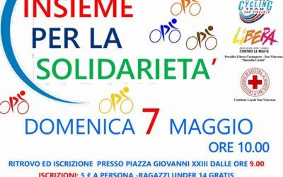 Torna la Pedalata della Solidarietà: Domenica 7 Maggio tutti in bici