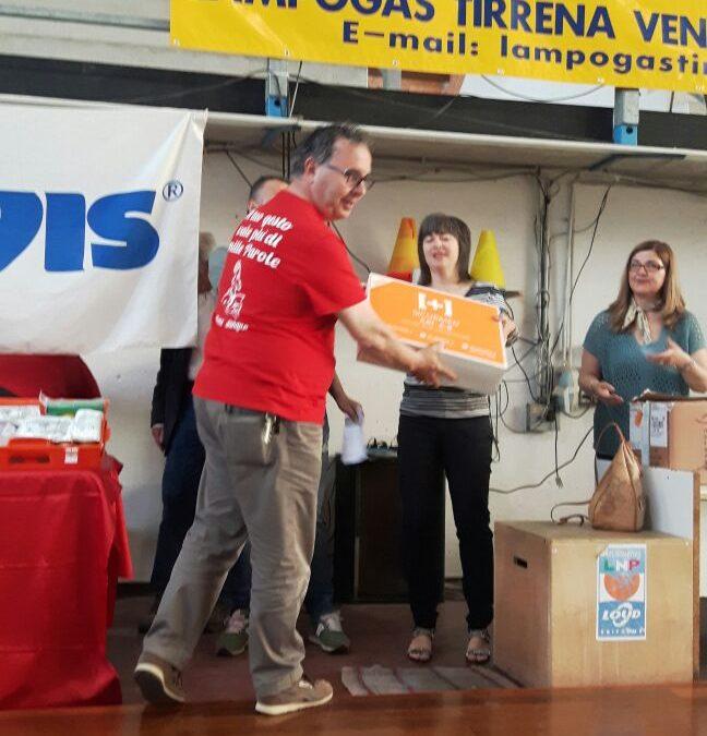 Consegnate le valigette di primo soccorso alle scuole!!