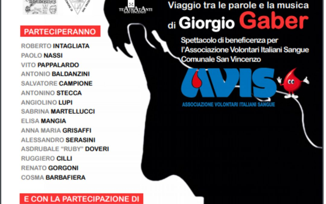 La strada, viaggio tra la musica e parole di Giorgio Gaber