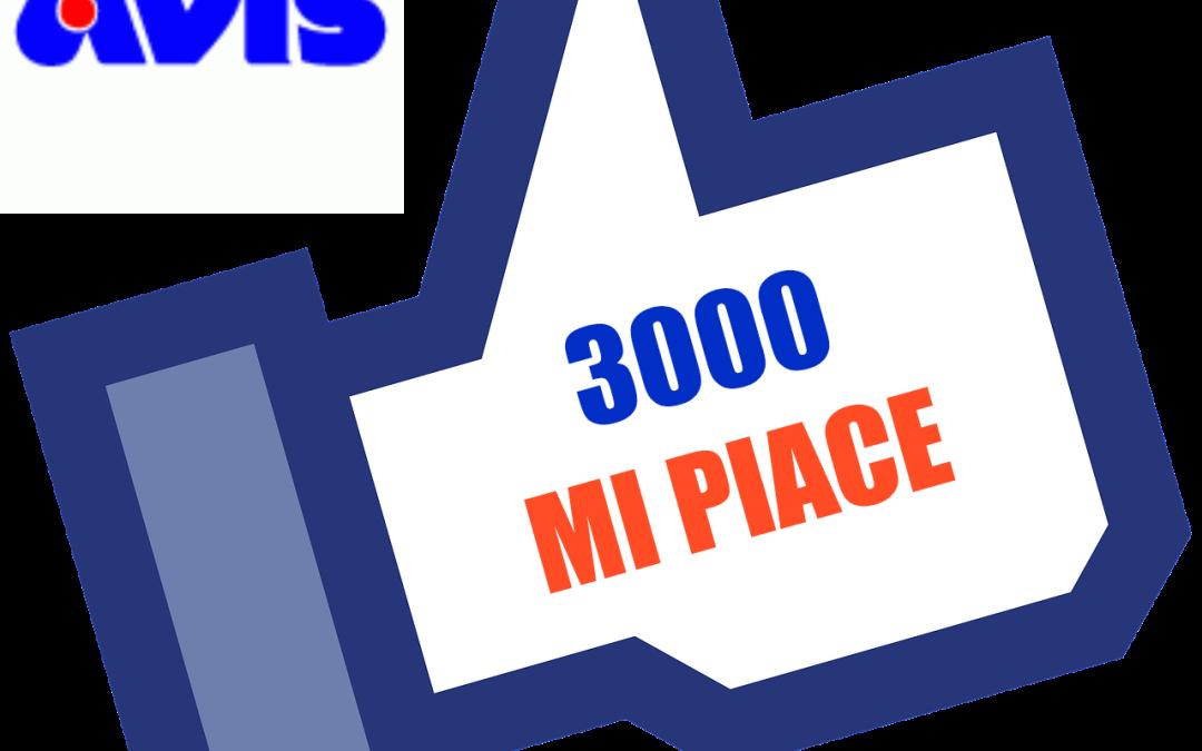 3mila Mi piace: la pagina Facebook di Avis San Vincenzo spopola!