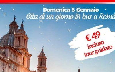 Gita a Roma il 5 Gennaio